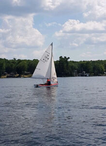 12 Foot Arrow Sailboat