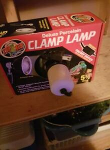 Reptile lamps and bulb $50 or better offer