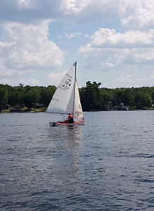 Arrow 12 sailing dinghy