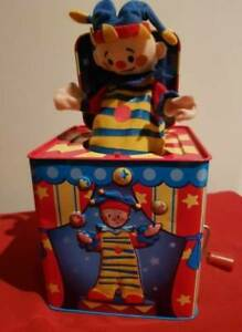 Schylling's Silly Circus 2010 Jack In The Box Clown Pop Up Toy