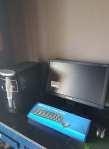 PC GAMER INTEL i7-4770, 16 GB, GTX 1050 Ti 4GB, 2TB, WIFI + JEUX