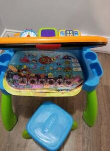 Toddlers Learning Center Table with Stool.....LIKE NEW