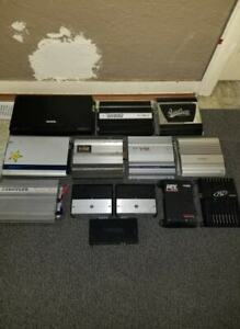 Car audio amplifier collection