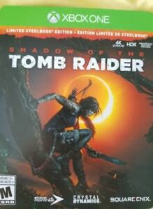 Shadow of the Tomb Raider Steelbook edition Xbox One