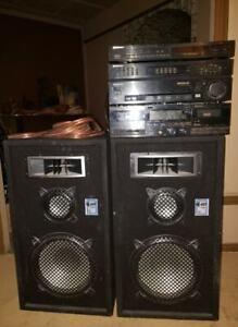 Speaker AST X2 1500 et système de son Pioneer