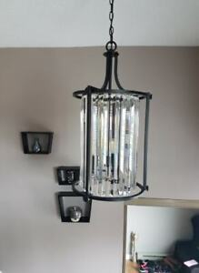 foyer or dining light brand new in box .....at Wayfair for $900.