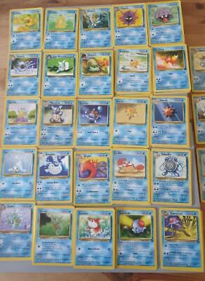 Pokemon Cards Mixed First Generation - Water