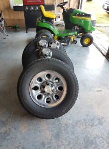 17 inch Chrome Wheels