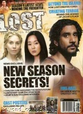 LOST OFFICIAL MAGAZINE - CAST COVER + 2 CAST POSTERS # 16A