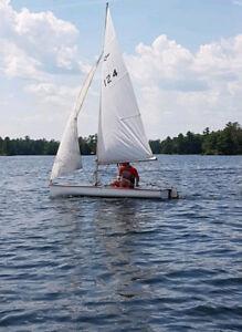 12 Foot Arrow Sailboat