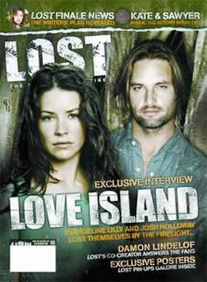LOST OFFICAL MAGAZINE - KATE & SAWYER - JOSH HOLLOWAY & EVANGELINE LILY #10A