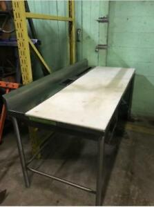 Cutting Board & Wood Tables Stainless Steel Tables Single/Double/Triple Bay Amazing Prices!
