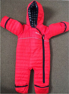 Columbia infant 6-12 months unisex bunting snowsuit