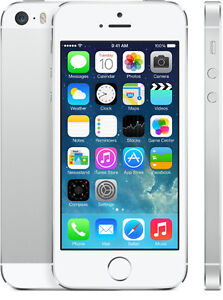 LIKE NEW WHITE IPHONE 5S 16GB LTE HD - Rogers/Chatr