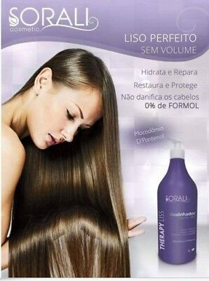 Sorali Treatment Liss Formaldehyde-Free 1000 ml (Limited Sale)