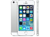Iphone 5s 16gb unlocked white silver- brand new