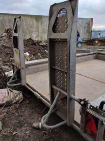 Ifor Williams plant trailer