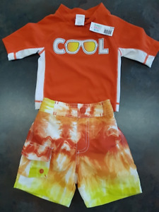 Boys Gymboree 2 Piece Short Set Size 6 Months