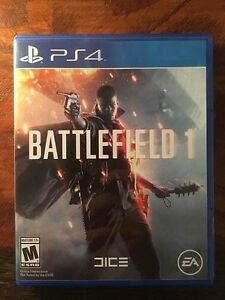Battlefield 1 PS4 (Played once)