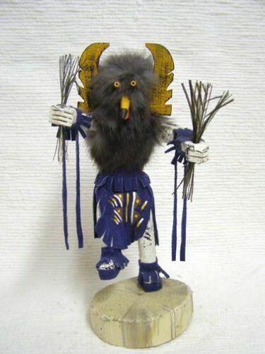 "Native American Navajo NK29 Made Owl Kachina Doll 10"" Approx Tall"