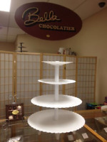 Cake Cupcake & Cake pop Stands for rent 519-355-1544 Chatham Ont