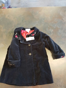 Girls Spring Jacket by Lullaby Club Size 6-12 Months