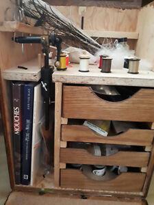 Kit complet pour mouche à pêche