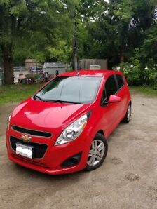 2013 Manual Chevy Spark (Red)