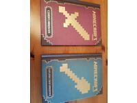 Minecraft kids hardback books