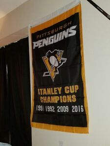Pittsburgh Penguins Stanley Cup Banner London Ontario image 1