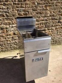 2 BASKET GAS FRYER