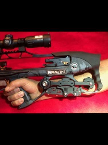 Munchmount Ravin Crank Relocation Bracket  for R26/R29/R29X Crossbows NEW!!!