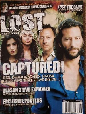 LOST OFFICIAL MAGAZINE - BEN - DESMOND - ALEX - NAOMI COVER + POSTERS #14A