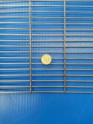 """Stainless Steel BBQ Grill Mesh 21.5"""" x 21"""" Stainless Steel 304 - BBQ Firepit"""