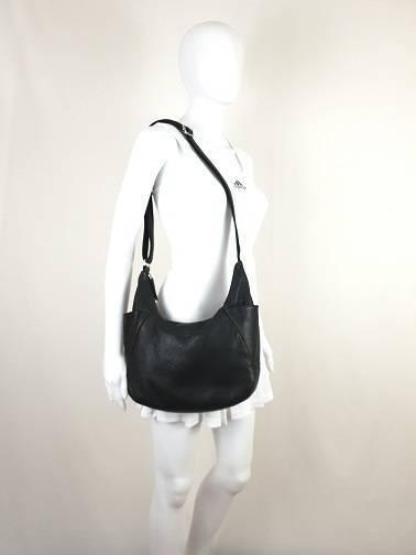 f0274acaf0b9 Milleni slouchy black genuine leather crossbody  47 shoulder bag ...