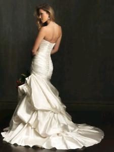 Allure bridal luxury satin wedding dress