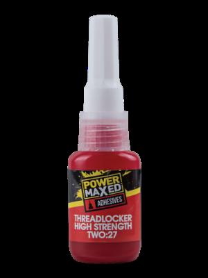 Power Maxed PM2711 - 10ml High Strength Two:27 Threadlocker - Tracked 48 Post
