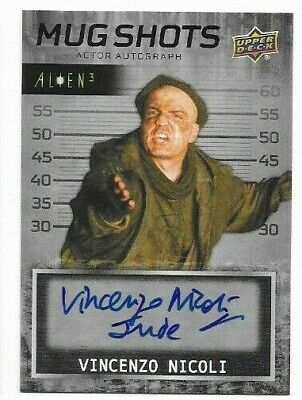 "2021 Alien 3 Movie trading cards autograph Vincenzo Nicoli MS-VN ""Jude"""