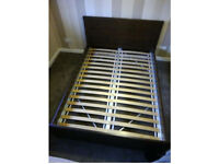 BRUSALI Double Bed Frame