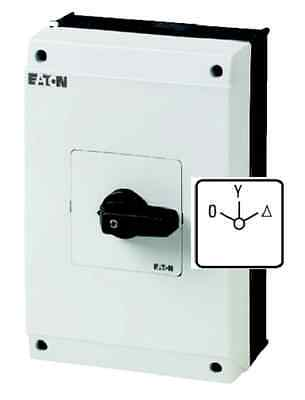 (1 Stk) Stern-Dreieck-Schalter 63A 22kW IP65 Moeller EATON 207234 // T5B48410I4