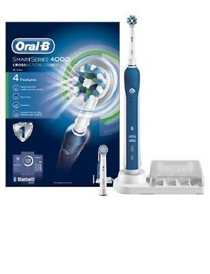 Braun Oral-B Smart Series 4000 Cross Action Bluetooth Rechargeable Toothbrush