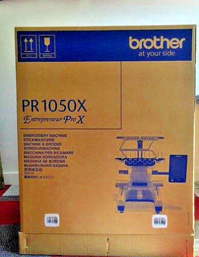 Demo Machine Brother PR1050 X 10 Needle Embroidery Machine  - Used Sold As is.