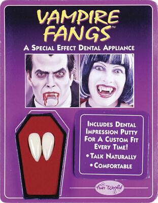 Vampire Fangs Dracula Teeth Halloween Theatrical Custom Costume Accessory SFX