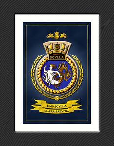 HMS - ROYAL NAVY FRAMED SHIPS BADGES - HUNDREDS OF HM SHIPS IN STOCK