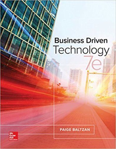 business driven technology 7e ... Image 1