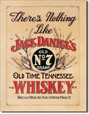 Jack Daniel's Old TimeTennessee Whiskey USA Metall Werbung