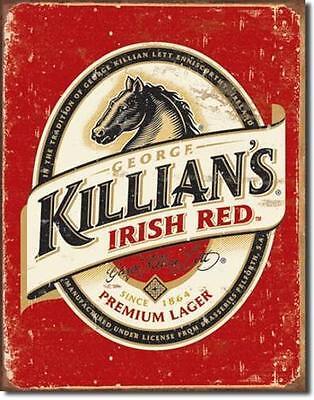 Killians Irish Beer Bier Vintage Style Metall Schild Bar Deko