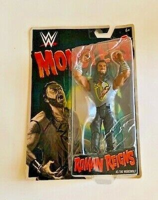 WWE Wrestling Monsters Roman Reigns as The Werewolf Action Figure Kids Toy Gift - Wwe As Kids