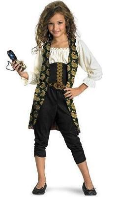 Pirates of the Caribbean: Angelica Pirate Classic Child Costume Size Medium (Pirate Angelica Costume)