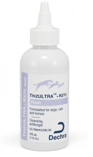 Dechra TrizULTRA + Keto Flush 4oz by Dechra for Dogs, Cats, and Horses